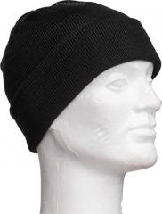 Mil-Tec Watch Cap, acrylic, fine knit, black
