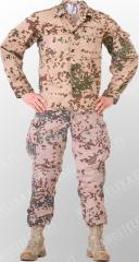 BW desert uniform, Tropentarn, surplus