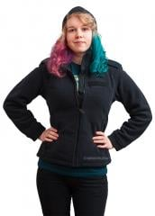 Brit police fleece jacket, black, women's, surplus