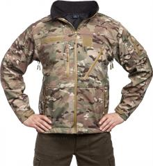 Mil-Tec SCU Soft Shell jacket, Multitarn