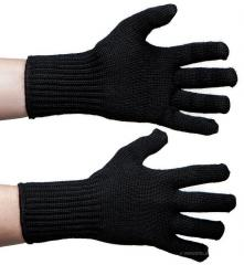 Särmä merino gloves, black