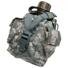 US 1qt canteen w/ MOLLE II pouch, UCP, surplus