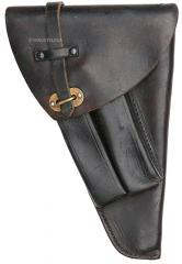 Swedish M1940 holster, black, surplus