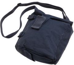 Dutch gas mask bag, blue, surplus
