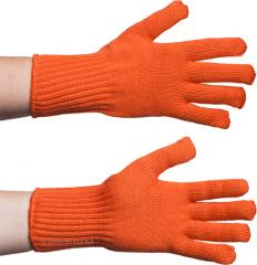 Särmä merino gloves, orange