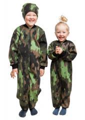 Särmä kids merino overall, camouflage