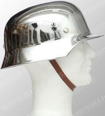 Wehrmacht M35 steel helmet, repro, chrome