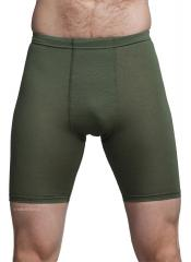 Särmä TST long merino wool boxers, green
