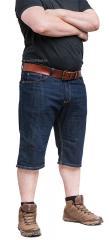 Särmä Classic Common denim shorts, blue