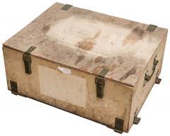 Puolalainen kaasunaamarilaatikko, vaneria, ylijäämä
