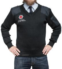 British fireman's sweater, surplus