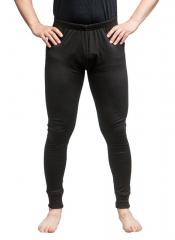Särmä thick merino wool long johns, black
