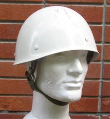 Finnish M60 white parade helmet