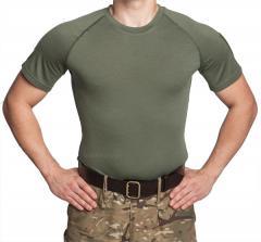 Särmä TST T-paita, merinovillaa, oliivinvihreä, vanha malli