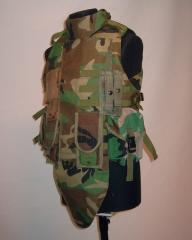 US IBA with pouches, Woodland, repro, used