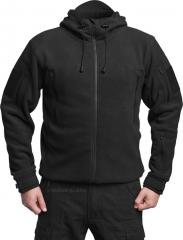 Särmä hooded Fleece jacket, black, old model