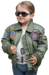 Kids' CWU Jacket, Olive Drab