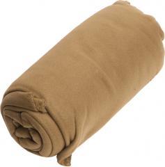 Mil-Tec Fleece blanket, 200 x 150 cm, coyote tan