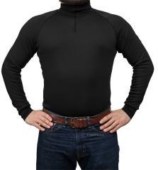 Särmä TST turtleneck shirt, merino wool, black