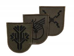 Särmä TST M05 training branch insignia, subdued