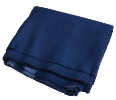 Russian blanket, flannel, blue, surplus