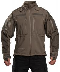 Mil-Tec Soft Shell jacket, olive green