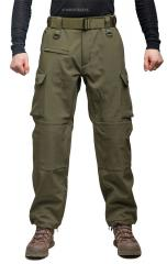 Mil-Tec Explorer Softshell Pants, Olive Drab