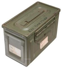 French ammunition box, .50 cal, surplus