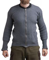 Tanskalainen villapaita, vetoketjulla, ylijäämä