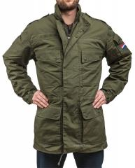 Dutch parka with GTX and pile liner, olive drab, surplus