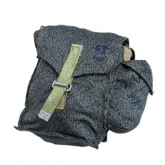 Polish gasmask bag, camo, surplus