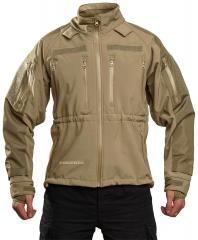 Mil-Tec Soft Shell jacket, coyote