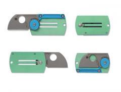 Spyderco Dog Tag Folder Aluminium/Titanium
