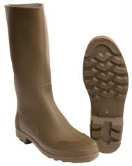 French rubber boots, olive, surplus