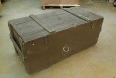 Polish wood box, huge, surplus
