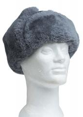 CZ fur hat, gray, surplus