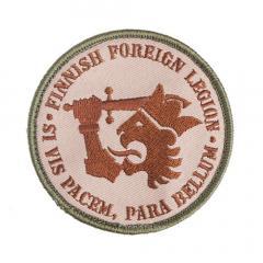 Kaaos Gear Finnish Foreign Legion moraalimerkki
