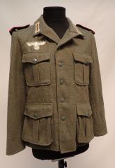 Wehrmacht sarkatakki, tykkimies, repro, käytetty, Small