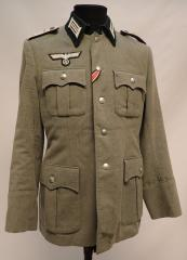 Wehrmacht wool tunic, Hauptmann, repro, used, 48