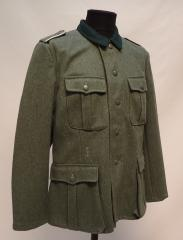 Wehrmacht M36 wool tunic, repro, used