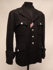 SS officer's wool tunic, repro, used, X-Large