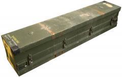 US Helffire missile box