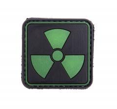 Säteilyvaara, pimeässä hehkuva PVC-moraalimerkki
