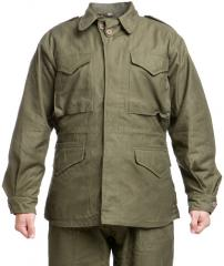 US field jacket M-1943, olive drab, reproduction