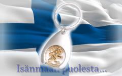 Finnish lion key hanger