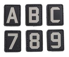 PVC-kirjasinmerkki