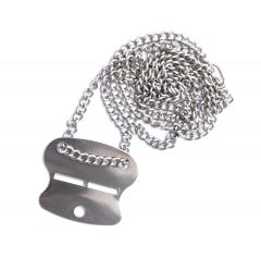 Finnish Dog Tag with chain