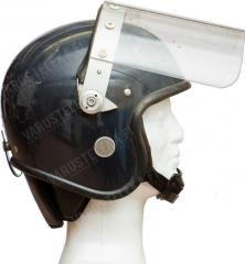 British riot helmet, surplus