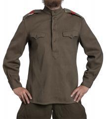 CCCP Gimnasterka shirt, thick, surplus