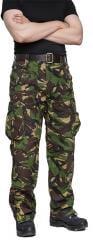 Brittiläiset Windproof Trousers, DPM, ylijäämä